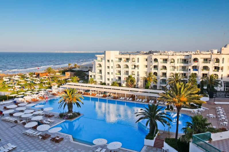 hotel elmouradi gammarth vue panoramique